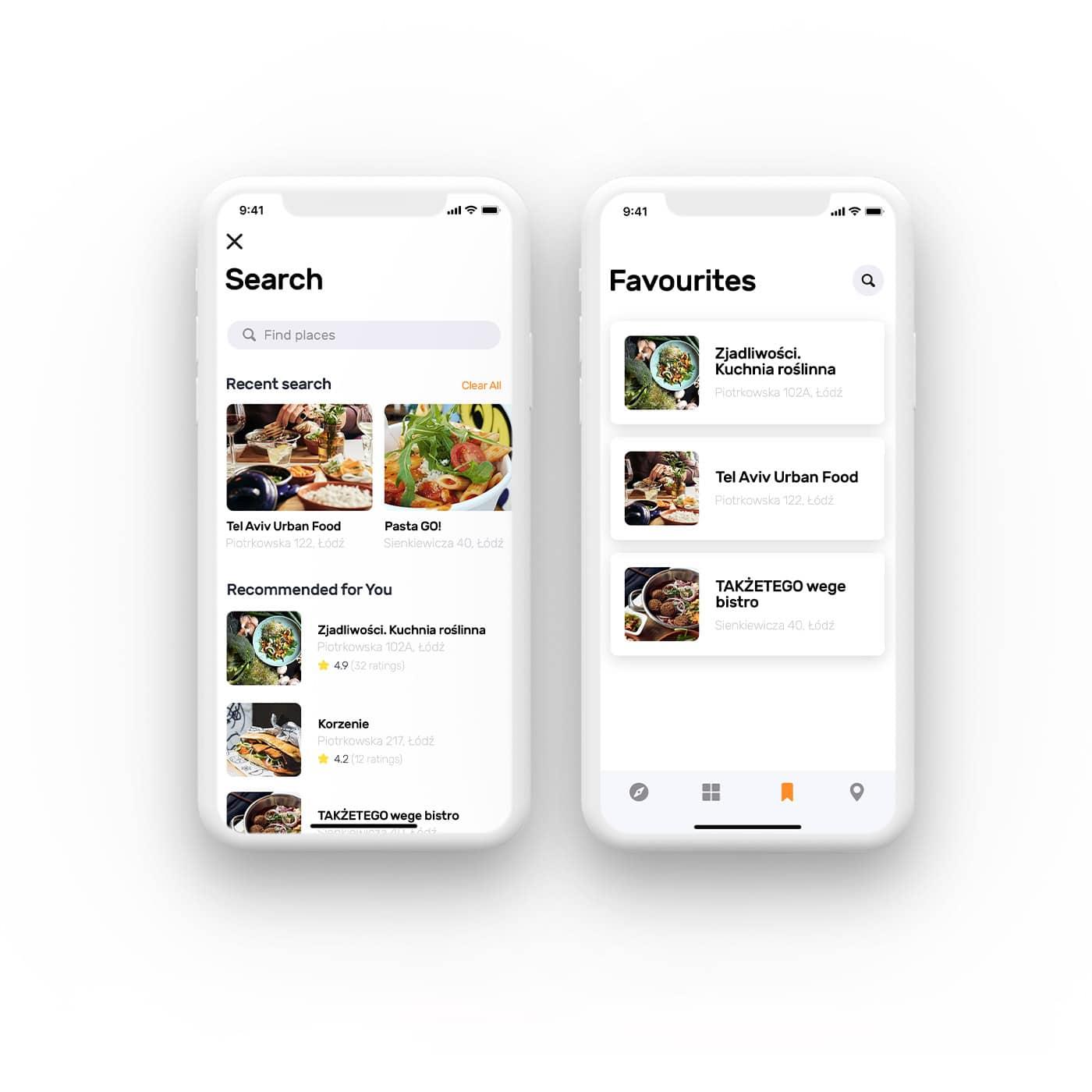 projekt aplikacji mobilnej wyszukiwarka